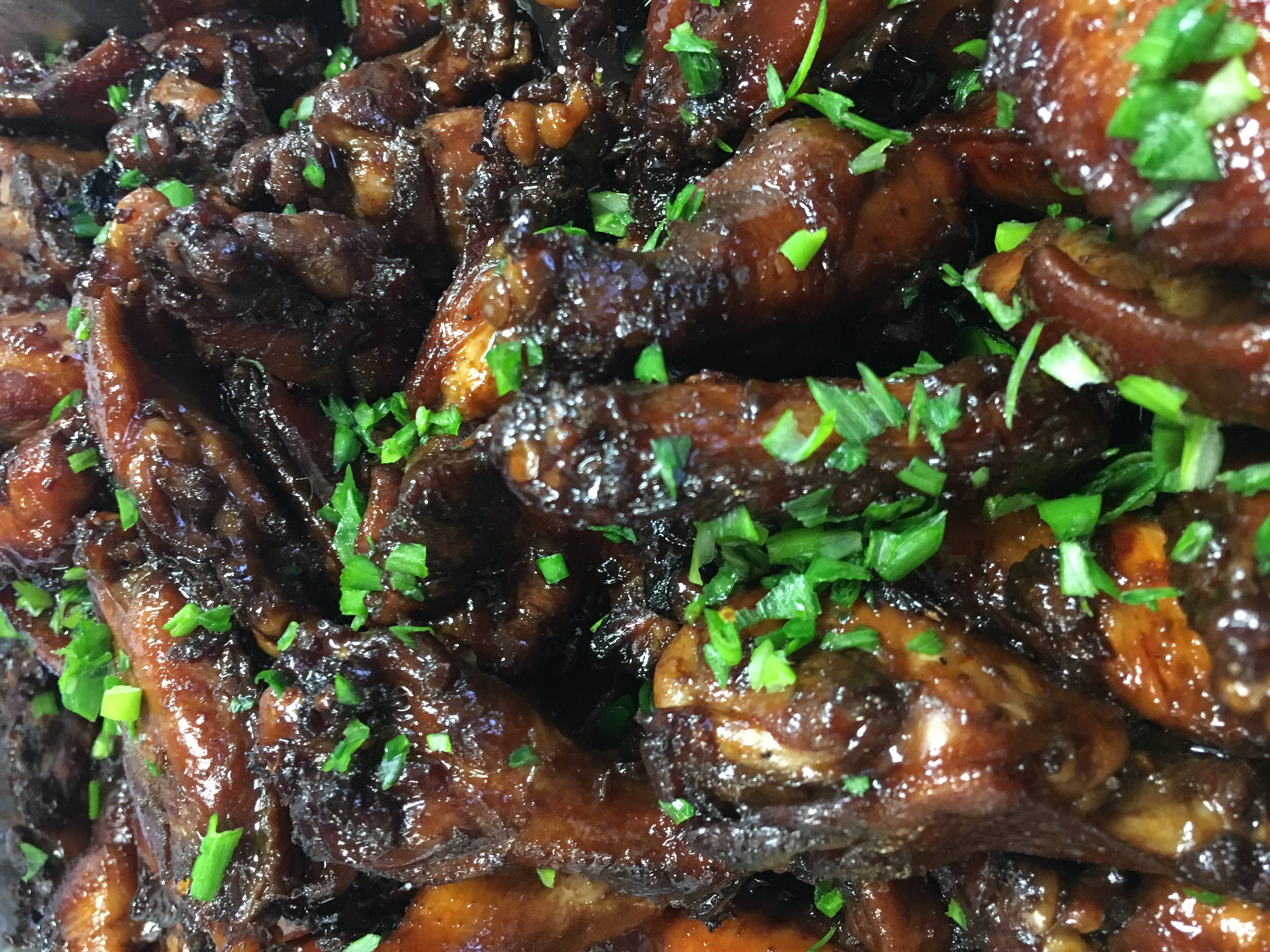 Sweet & Spicy Asian Wings