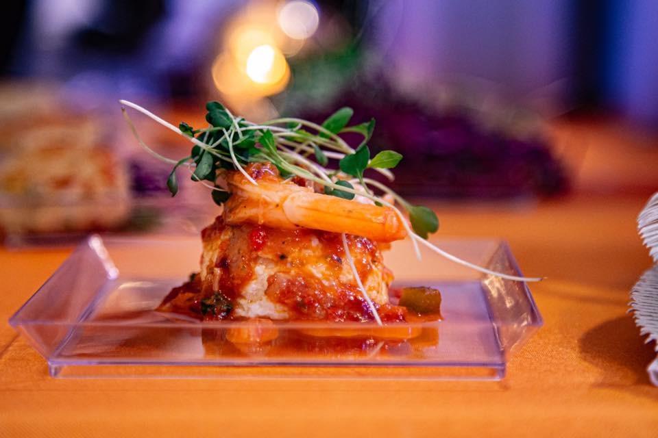 Chili Shrimp & Creamy Cheese Grits