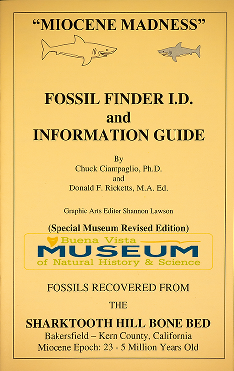 Fossil Finder I.D. and Information Guide