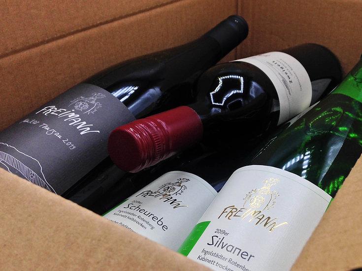 Weinprobe Versandpaket