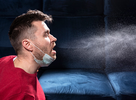 One cough produces enough coronavirus particles to infect 200,000 people. Here's how...