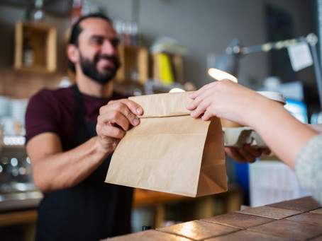 Is it safe to order takeaway food?