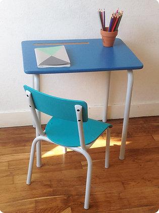 """Bureau et chaise d'écolier """"Herstal"""""""