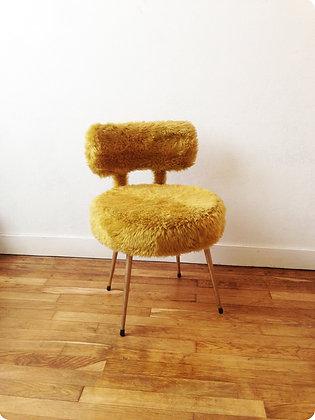 "Chaise moumoute "" Dijon"""
