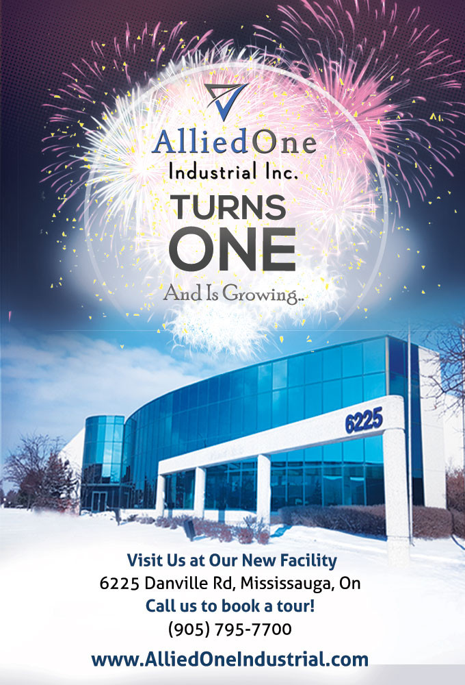 AlliedOne Industrial Celebrates is 1st Anniversary!
