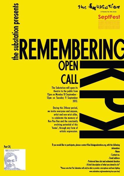 THE SUBSTATION: Remembering KPK