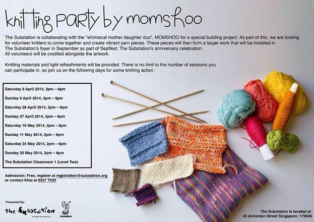 THE SUBSTATION: KNITTING PARTY