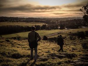 2014-07 Walking near Poacher's Pantry (N