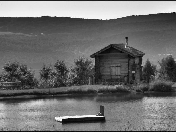 2010-07 Sarma's Pond BW.jpg