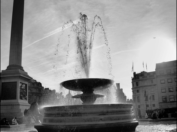 2010-12 Not Safe (Fountain Trafalgar Squ