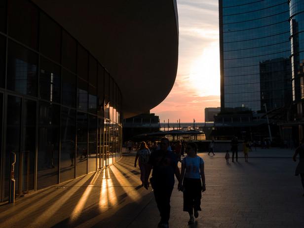 2018-06 Milan Sunset