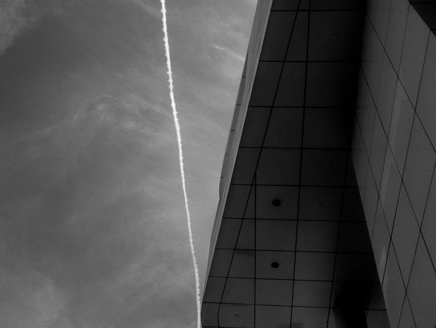 2014-07 Getty Jet Trail (Los Angeles) BW