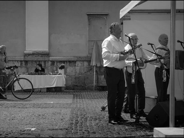 2018-06 Ljubljana-Band BW.jpg