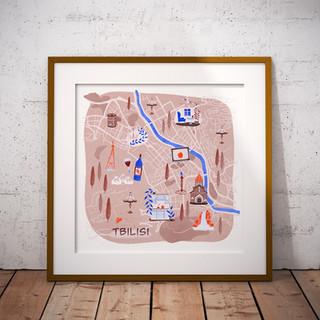 Map design | Illustration