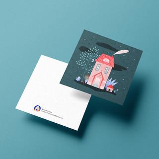 Postcards design | Illustration