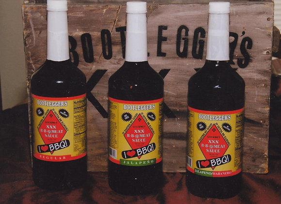Bootleggers BBQ Jalepeno Flavor   16 oz