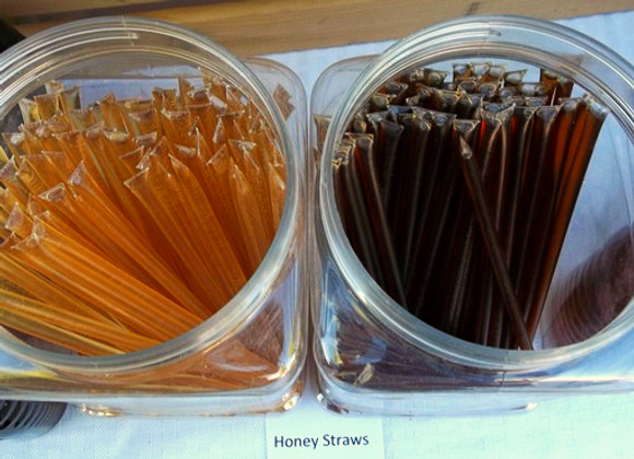 Honey Straws    3/$1.00   Orange Blossom