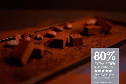 80% Bitter Dark Chocolate