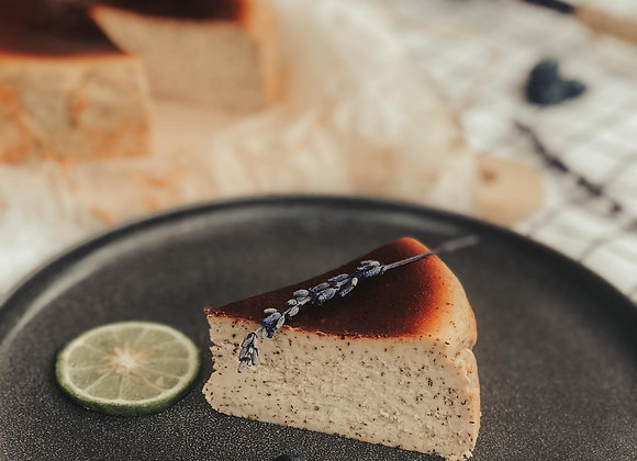 Basque Style Earl Grey Burnt Cheese Cake