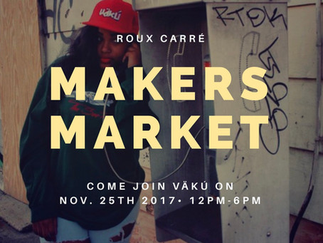 NEWS: Come join VäKú at Roux Carré in New Orleans, LAon Saturday!
