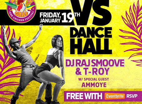 NEWS: Bounce VS Dancehall @ Drifter Hotel TOMORROW!💃🏾🕺🏾