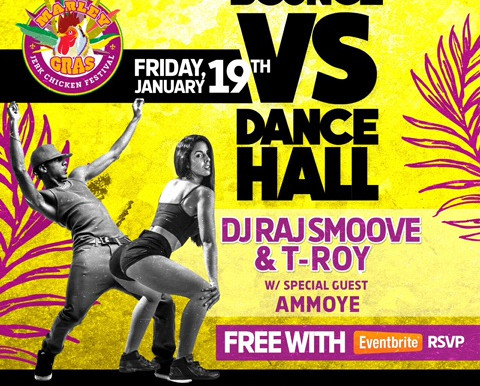NEWS: Bounce VS Dancehall @ Drifter Hotel TOMORROW! 💃🏾🕺🏾