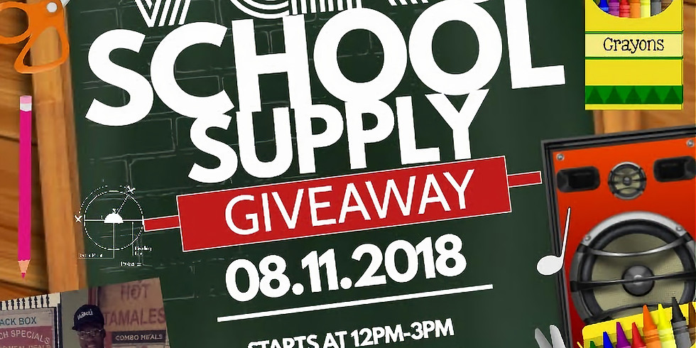 VäKú School Supply Giveaway 2018