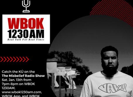 VäKú will be LIVE TONIGHT on WBOK 1230AM !