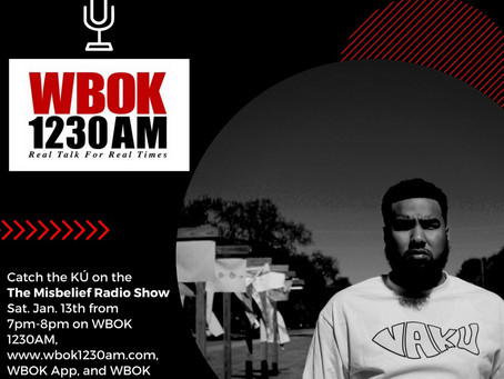 VäKú will be LIVE TONIGHT on WBOK 1230AM !
