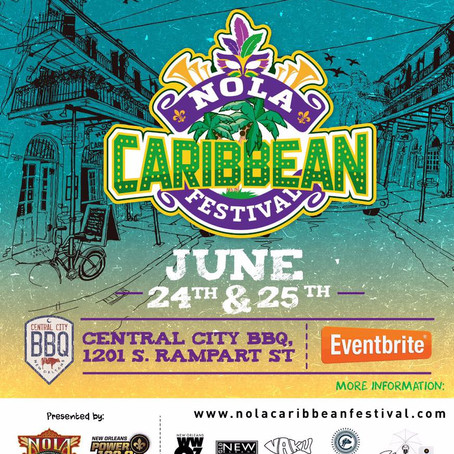 VaKu is sponsoring the 4th Annual NOLA Caribbean Festival!