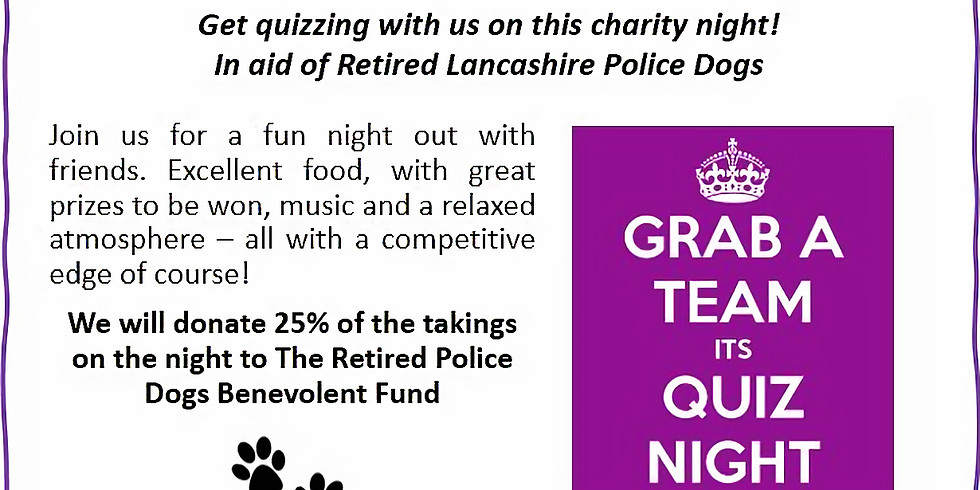 Charity Quiz Night*