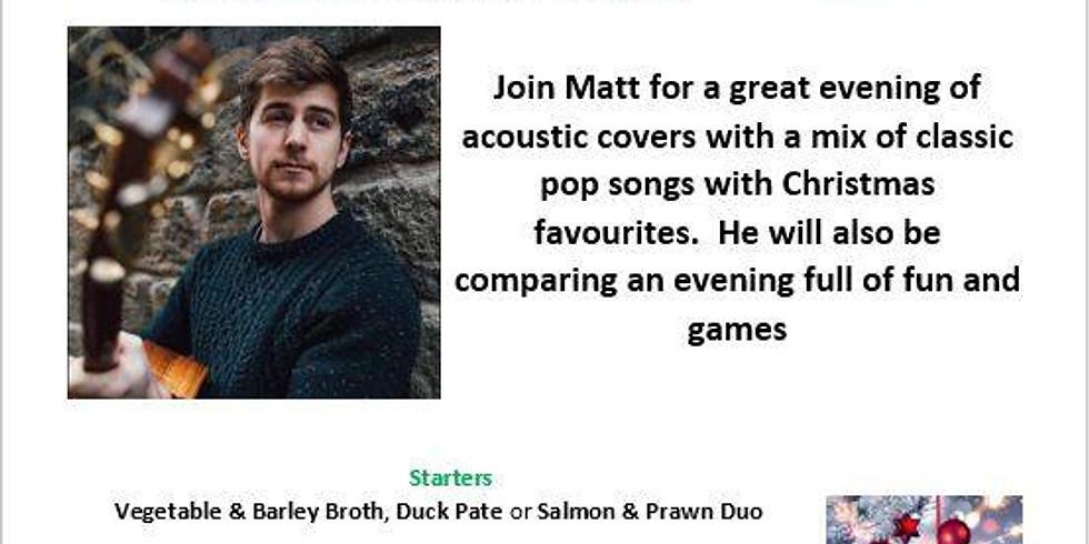 An Evening with Matt Bradford