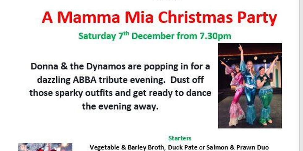 A Mamma Mia Christmas Party
