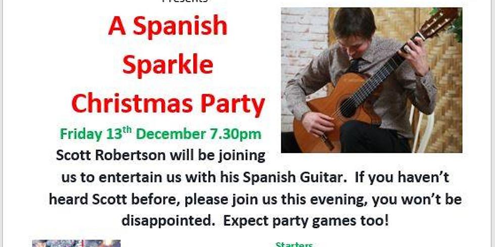 A Spanish Sparkle Christmas Party