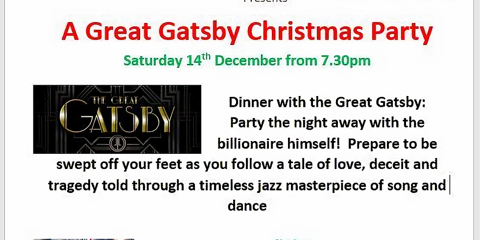 Great Gatsby Christmas Party