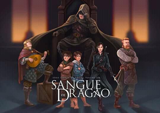 """Resenha: """"Sangue de Dragão"""" (Filhos do Fogo vol. 1) de Denis Ibañez"""