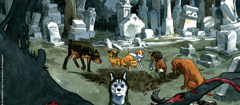 "Resenha: ""Beasts of Burden vol. 1 - Rituais Animais"" de Evan Dorkin e Jill Thompson"