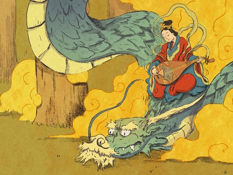 """Resenha: """"Shamisen - Canções do Mundo Flutuante"""" de Guilherme Petreca e Tiago Minamisawa"""