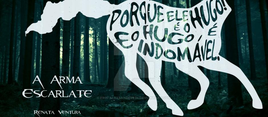 """Resenha: """"A Arma Escarlate"""" (A Arma Escarlate vol. 1) de Renata Ventura"""