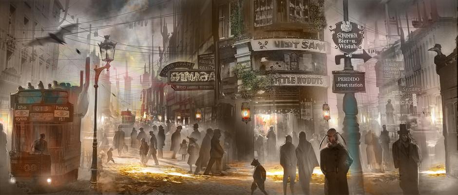 """Resenha: """"Estação Perdido"""" (Trilogia Bas-Lag vol. 1) de China Miéville"""