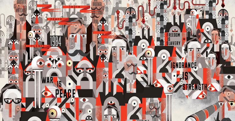 Orwell e sua visão sobre a política na escrita literária