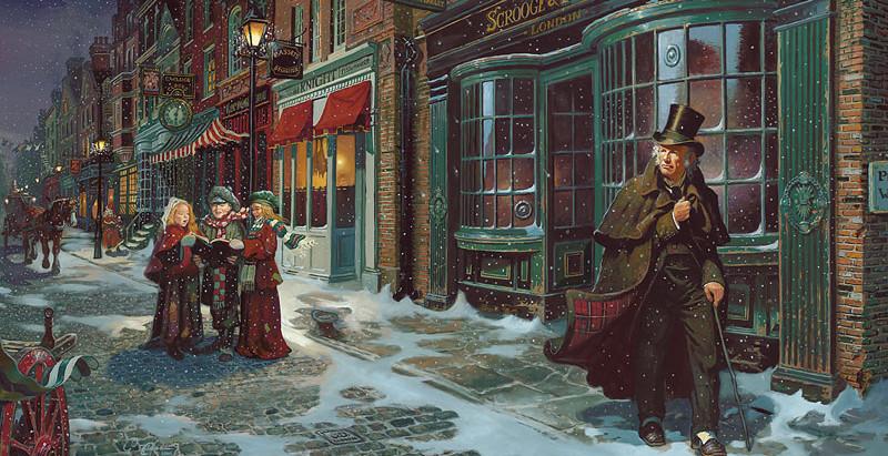 """Resenha: """"Um Cântico de Natal"""" de Charles Dickens"""