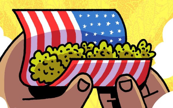 A visão de Box Brown sobre a ilegalização da maconha nos EUA