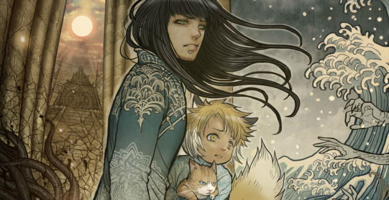 "Resenha: ""Monstress vol. 2 - The Blood"" de Marjorie Liu e Sana Takeda"