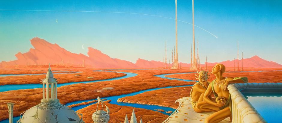 """Resenha: """"As Crônicas de Marte"""" organizado por Gardner Dozois e George R.R. Martin (Parte 1)"""