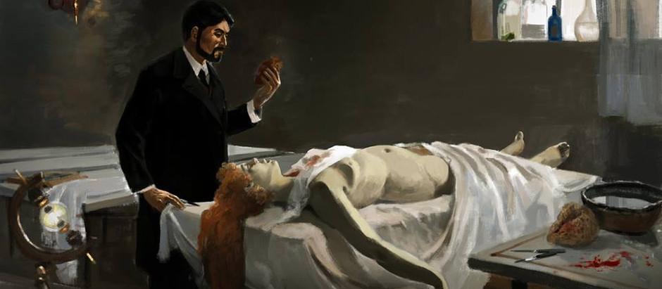 """Resenha: """"A Lição de Anatomia do Temível Doutor Louison"""" de Eneias Tavares"""