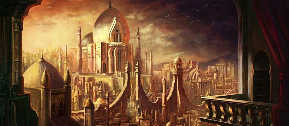 Bestiário de Criaturas de A Cidade de Bronze