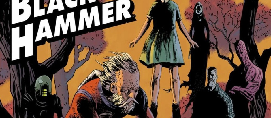 "Resenha: ""Black Hammer - Origens Secretas"" de Jeff Lemire e Dean Ormston"