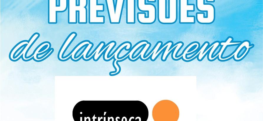 Previsões de Lançamento para 2019: a Editora Intrínseca