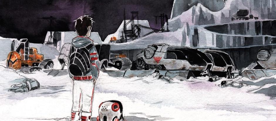 """Resenha: """"Descender vol. 1 - Estrelas de Lata"""" de Jeff Lemire e Dustin Nguyen"""
